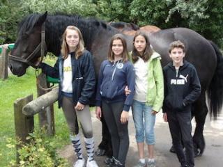 Normandy host family